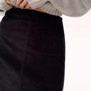Aritzia centinela skirt
