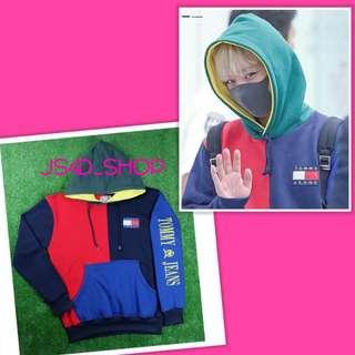 Jaket hoodie fc jihoon wannaone
