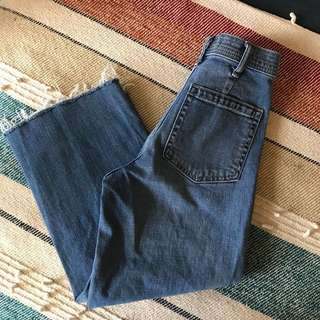 Gap Wide Leg High Rise Jeans Size 24