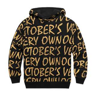 OVO October's Very Own All Over Print Hoody Gold (Medium/Small)