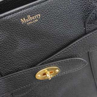 SUPER SALE - Mulberry zipped bayswater bag