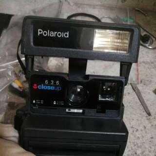 英國製造 寶麗來菲林即影即有相機polaroid 636 close up$150