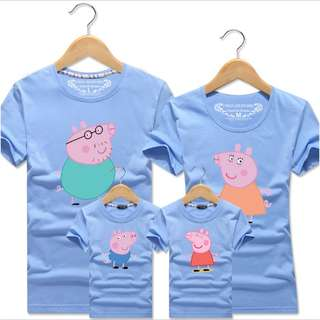 (Preorder) peppa pig family wear