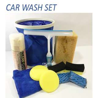 Free Doorstep Delivery - Car Wash Set