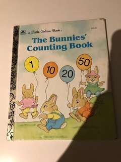 The Bunnies Counting Book - Little Golden Book