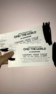 WTS wanna one cat 1 pen c tickets