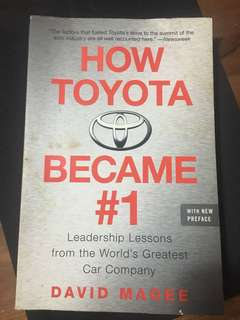 How Toyota Became #1