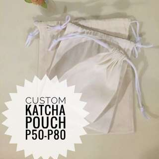 Katcha pouch