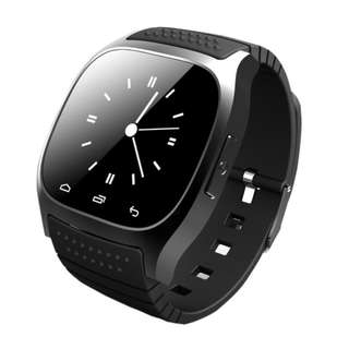Waterproof M26 Bluetooth Smart Watch With LED Alitmeter Music Player Pedometer For Apple IOS Android Smart Phone