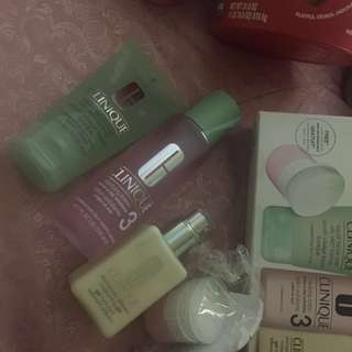 Authentic Clinique 3 step skin care (REPRICED!!! RUSH!!!)