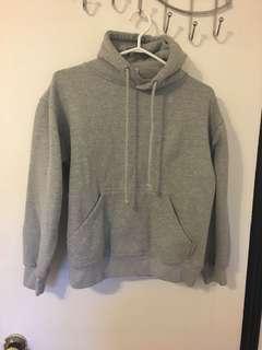 Vintage Grey Hoodie