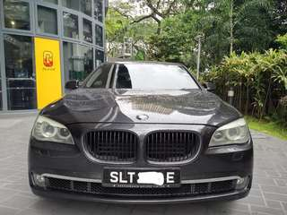 BMW 740Li for long term lease
