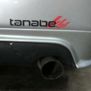 WTB Axio Tanabe exhaust