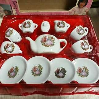 Vintage 13 Pcs. China Tea Set