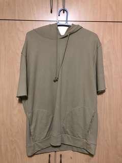 Zara Mens short sleeve hoodie