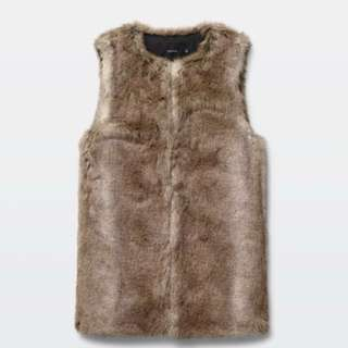 ARTIZIA fur vest - never worn