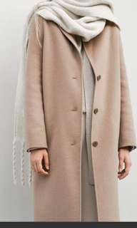 Oak + Fort Size XS Handmade Wool Coat