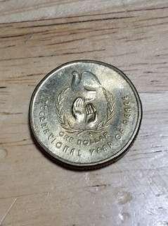 1986年 澳大利亞 幣