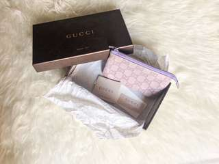 [Preloved] Authentic Gucci Pouch