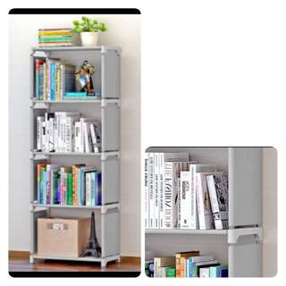 4Slots Grey Cabinet or Rack or Shelf