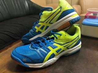 🚚 ASICS 亞瑟士 (男) GEL-ROCKET 7 排球鞋 羽球鞋 B405N-4207