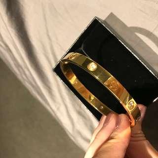 Cartier Love Bracelet with Diamonds