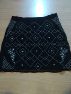 Intricate Beaded Skirt used 1x