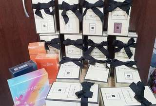 Jo Malone overload and other perfumery