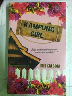 Novel 'Kampung Girl'