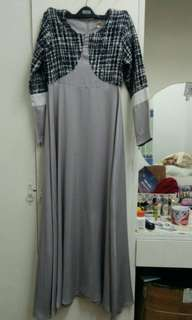 Checkered jubah by jakel