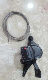 Shimano Alivio M4000 9 speed shifter