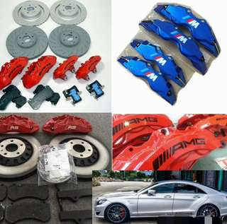 6/4 POT BRAKE KITS! AMG! RS SPORTS! M SPORTS! BREMBO! AP RACING! Original kits with installation and 3 years warranty! Pre-book now!