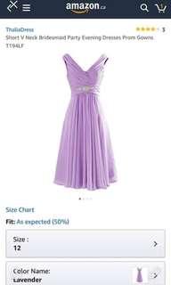 Lavender Dress Size 12