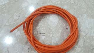 Jagwire Cable hose. Orange