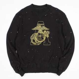 Amiri Marine Eagle Sweatshirt