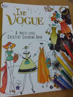 Coloring book in vogue