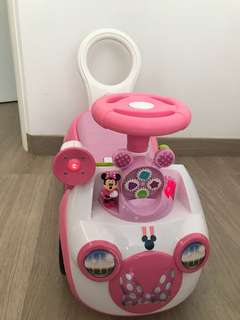 Minnie Mouse ride on bought from toysrus