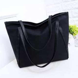 [PO] Large Leather Tote Bag