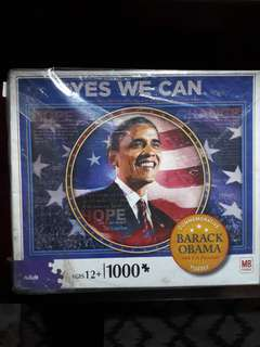 Obama Yes We Can Puzzle