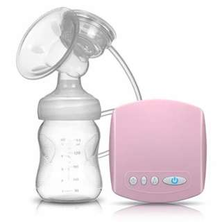 Single breast pump
