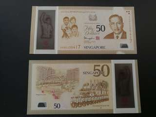 SG50 Fifty Dollar Notes