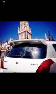 Universal Spoiler - Hatchback/SUV/MPV