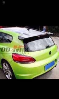 VW Scirocco Spoiler