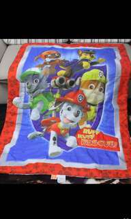 Instock 2pcs only no more restock paw patrol kids blankets authentic brand new ht1150 wt110cm