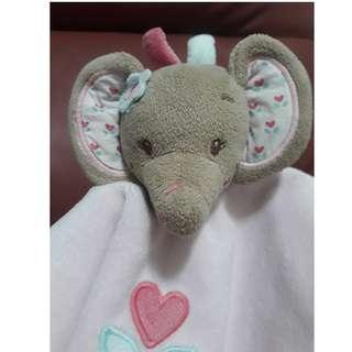 Mattou 大象娃娃安撫巾