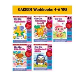 Offer ! Gakken Go Go workbooks