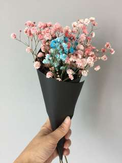 Fresh Baby breath flower bouquet