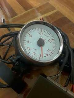 Defi Electronic Boost Meter