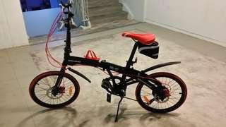 "Hachiko Bicycle 20"""
