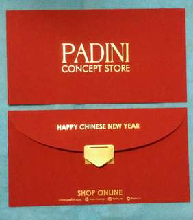 5 pcs Padini Concept Store Red Packets